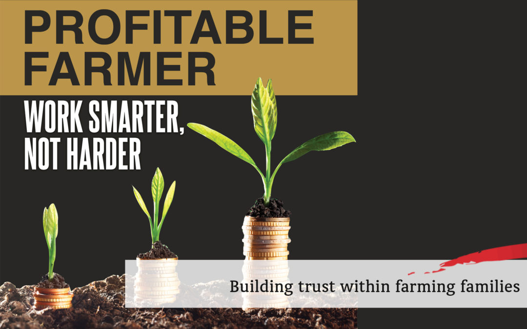 Building trust within farming families