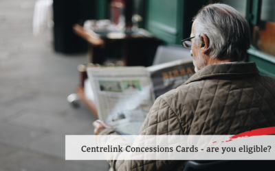 Centrelink Concession Cards