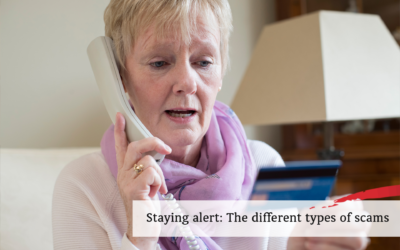 Staying alert: The different types of scams